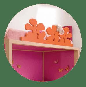 sicheres hochbett modernes design