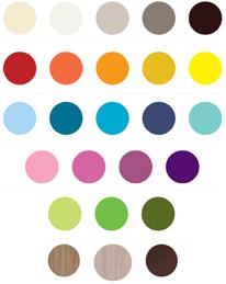 Farben Holzart individuell wählbar