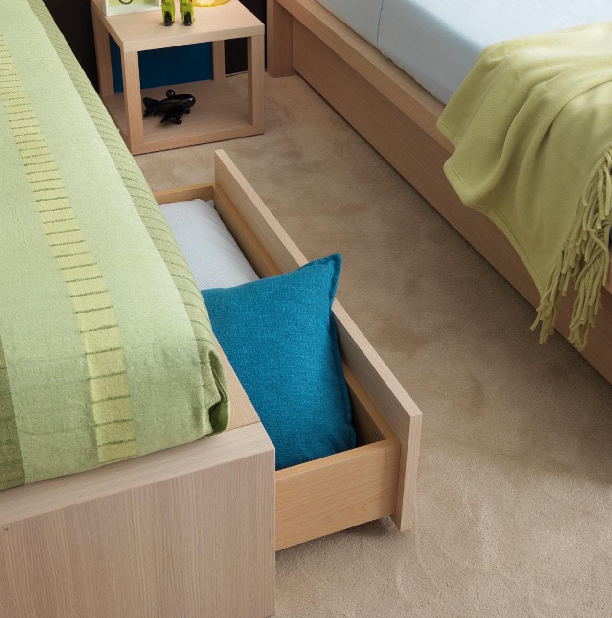 hochwertige Jugendbetten mit Stauraum