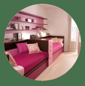 Hochwertige Betten mit Stauraum für Mädchen