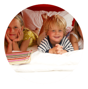 Kinder mobimio Spaß im Kinderzimmer