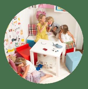Design Spielmöbel für Kinder mobimio