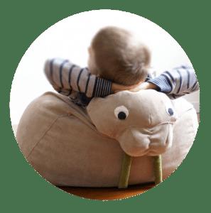 Design Sitzsack für Kinder hochwertig