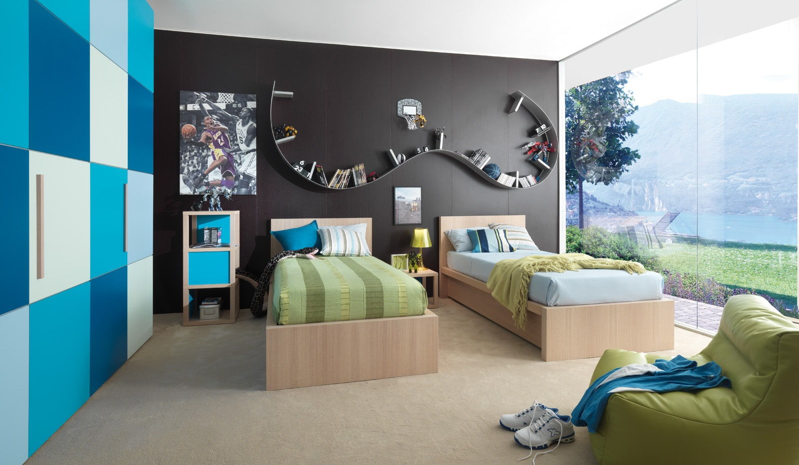hochwertige kinderm bel und jugendm bel mit modernem design. Black Bedroom Furniture Sets. Home Design Ideas