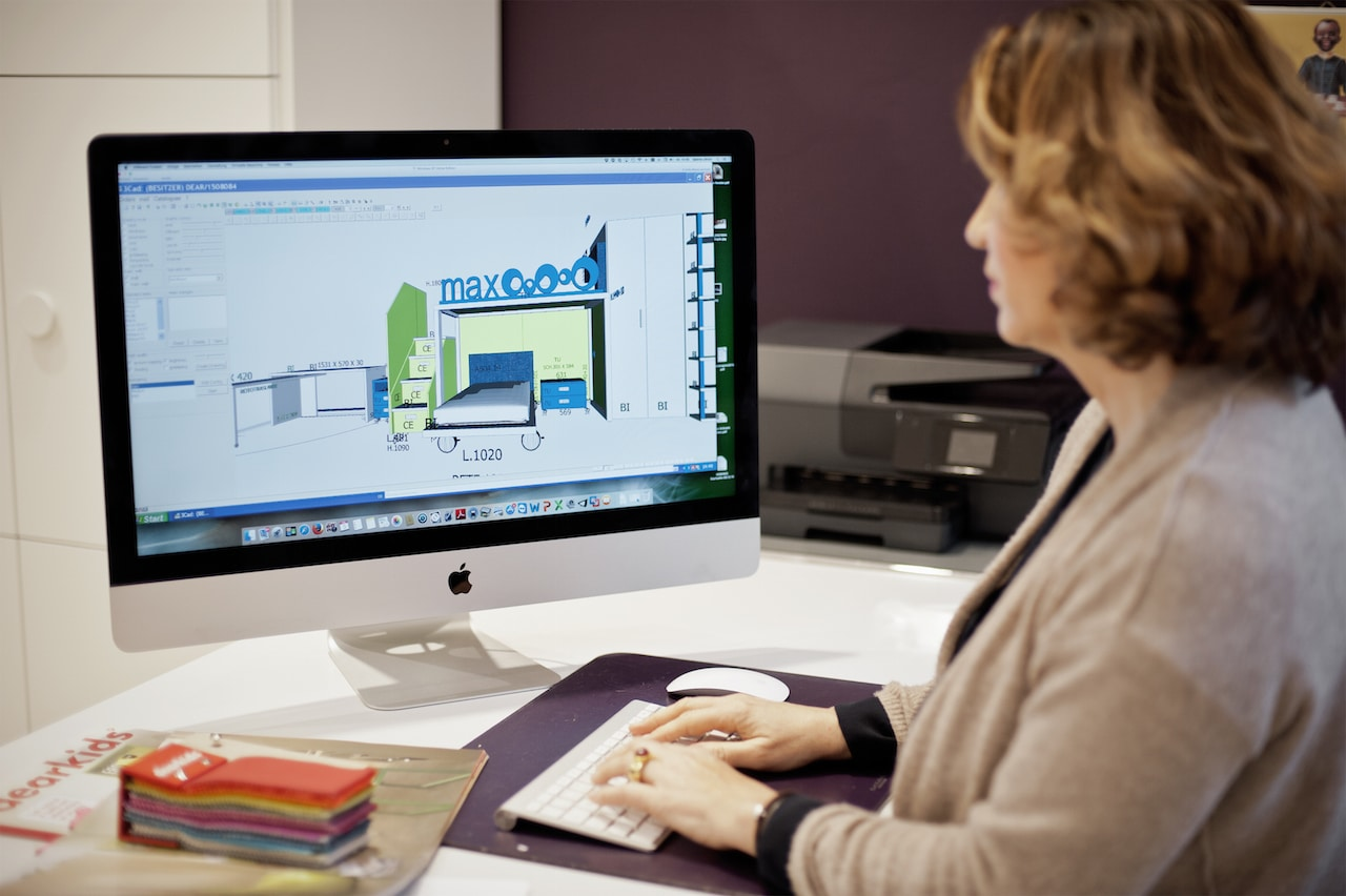CAD-Planung Kinderzimmer vom Profi