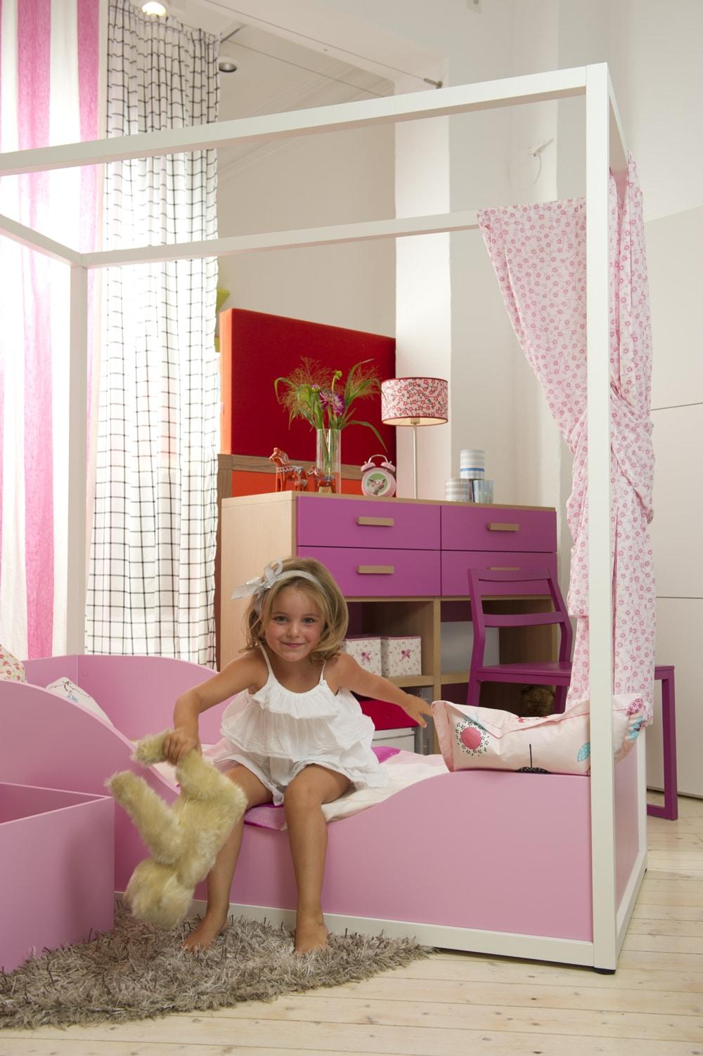 Himmelbett für Mädchen Kleinkinder