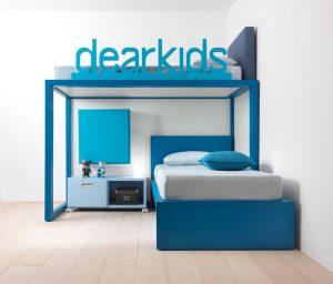 hochbett f r jungen mobimio. Black Bedroom Furniture Sets. Home Design Ideas