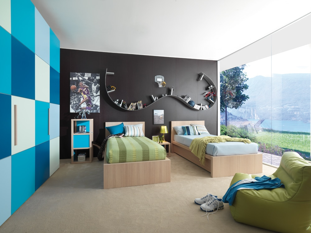 kinderbetten und jugendbetten hochwertige design kinderm bel. Black Bedroom Furniture Sets. Home Design Ideas