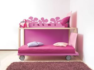 hochbetten fuer maedchen mobimio. Black Bedroom Furniture Sets. Home Design Ideas