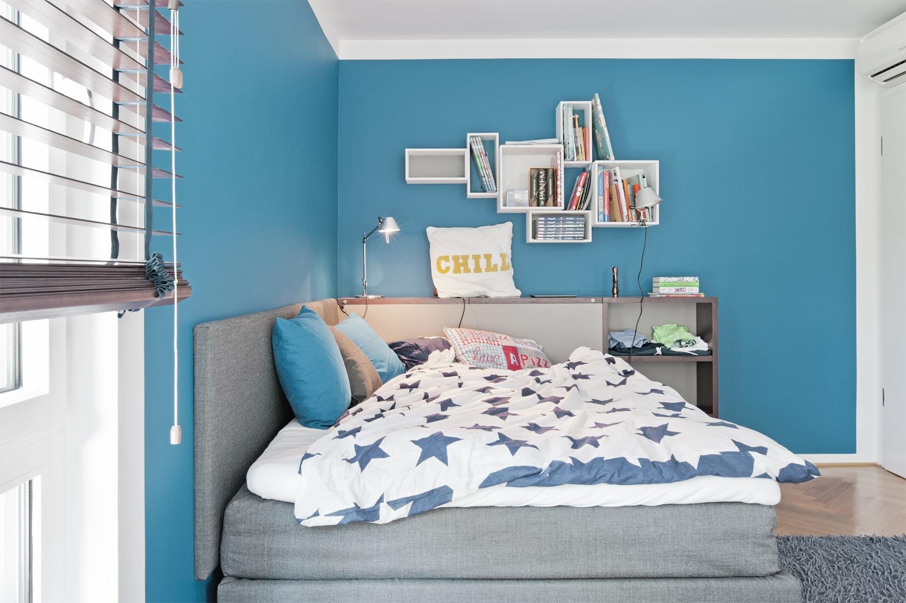 Exklusives Jugendzimmer Jungen Bett