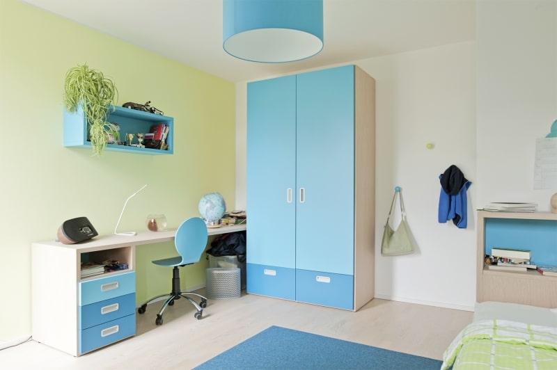 Modernes Jugendzimmer hochwertig eingerichtet