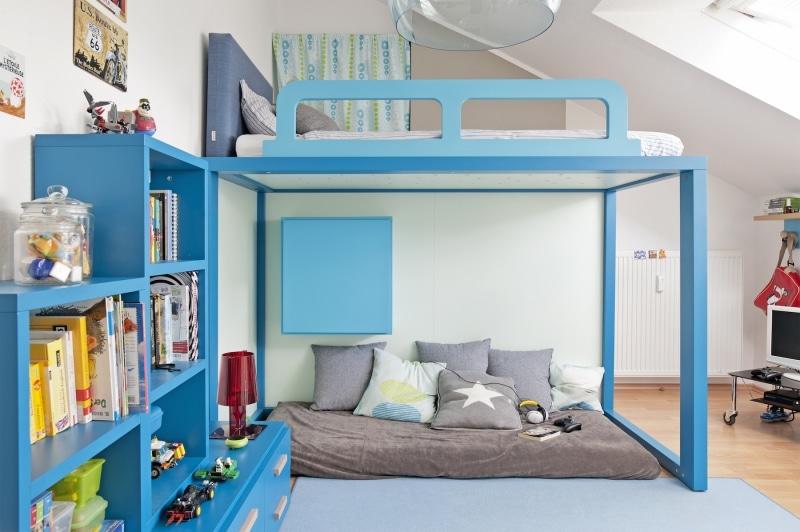 Hochbett für Jungen cool und modern