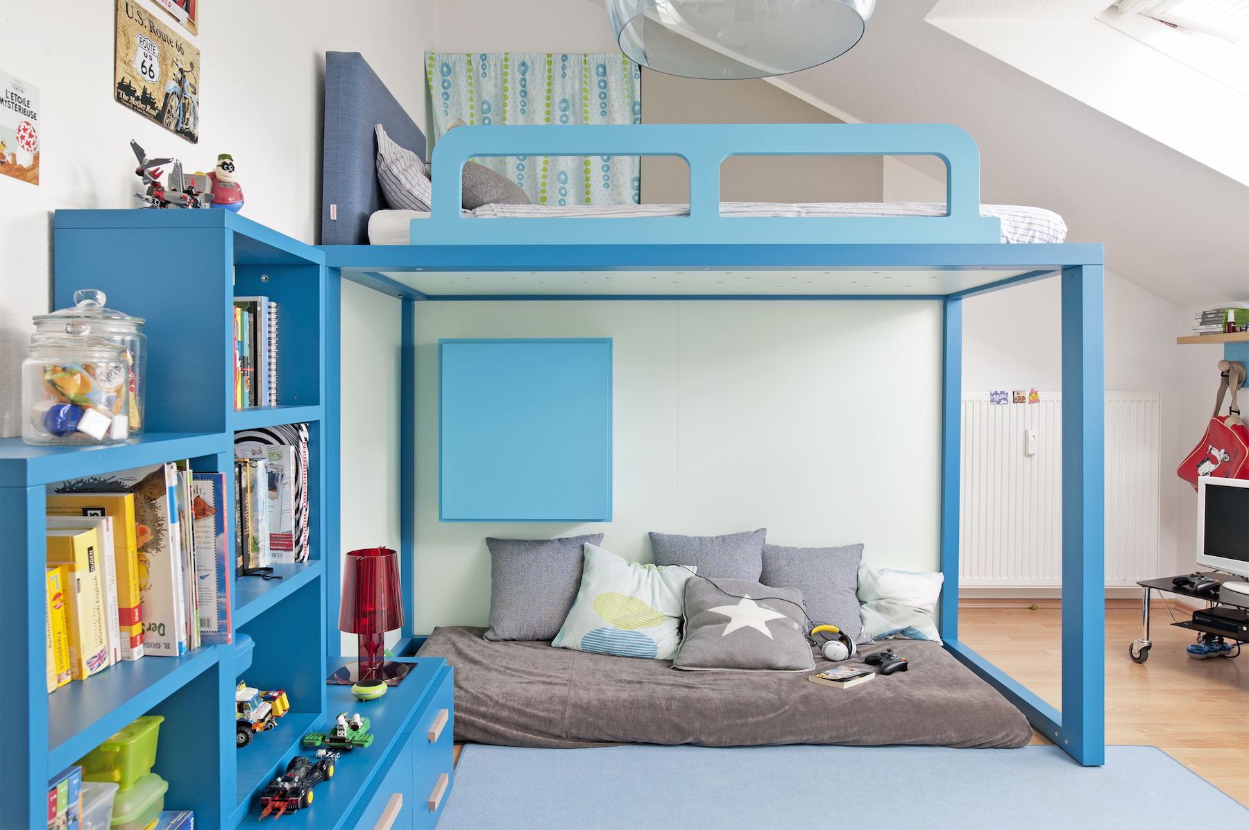 wandgestaltung kinderzimmer jungen. Black Bedroom Furniture Sets. Home Design Ideas