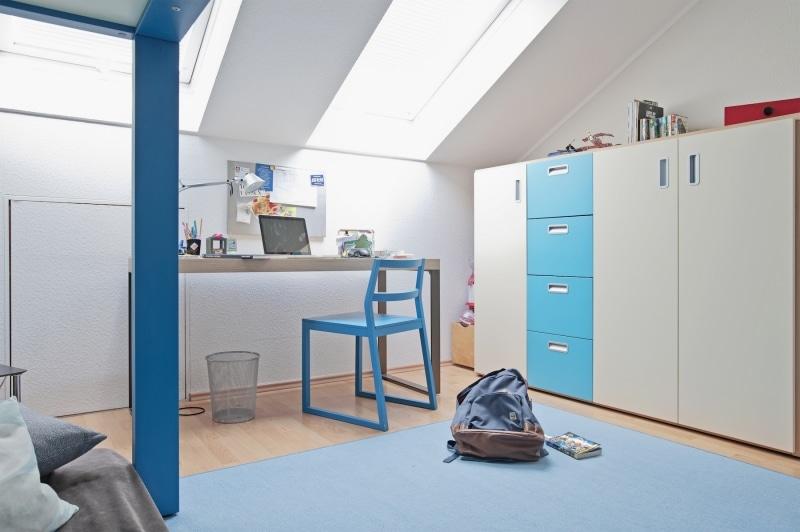 Design Kindermöbel Hochbett für Jungen