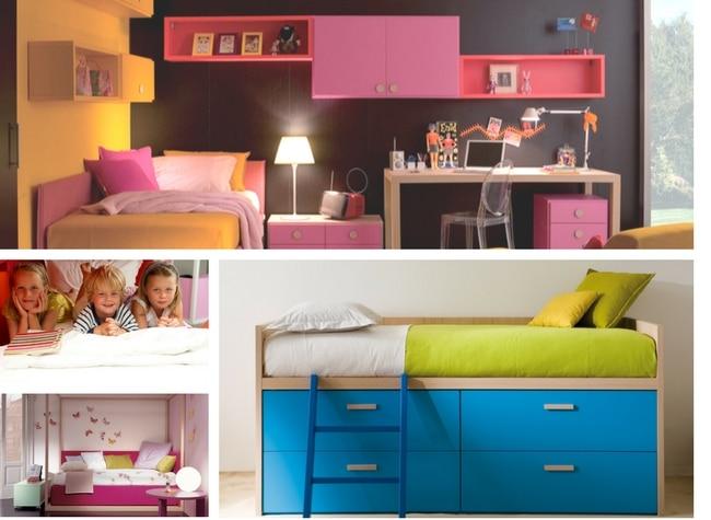 moderne Betten für Kinder