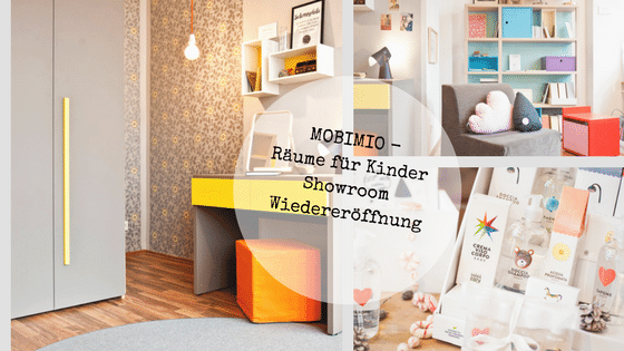 Design Kindermöbel im mobimio showroom