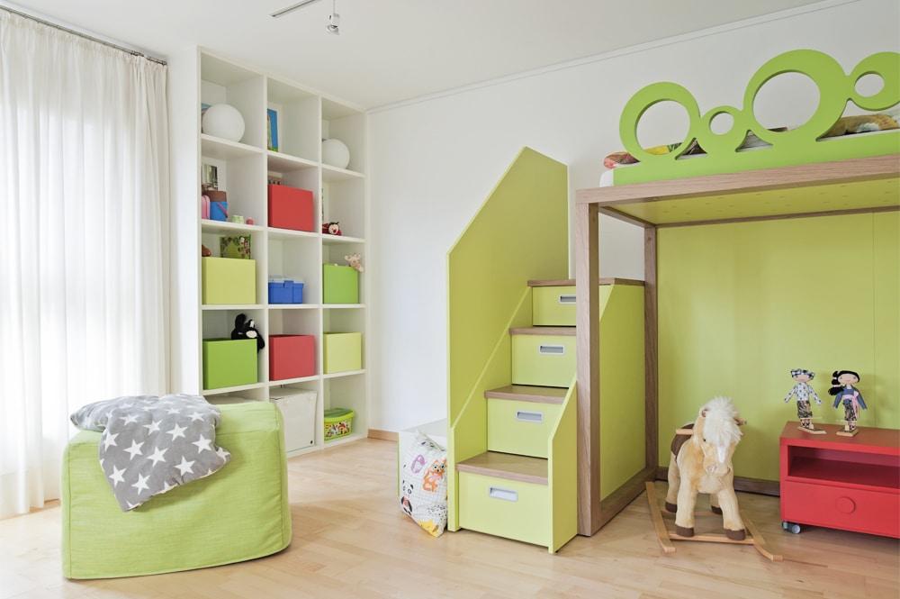 DESIGN HOCHBETT Kinderzimmer Mobimio