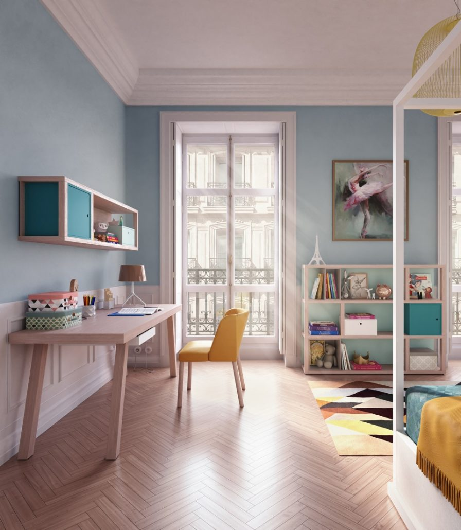 Design Kindermöbel Schreibtisch