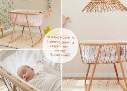 Exklusive Babyzimmer einrichten aussergewöhlnliche Babyzimmer Babywiegen
