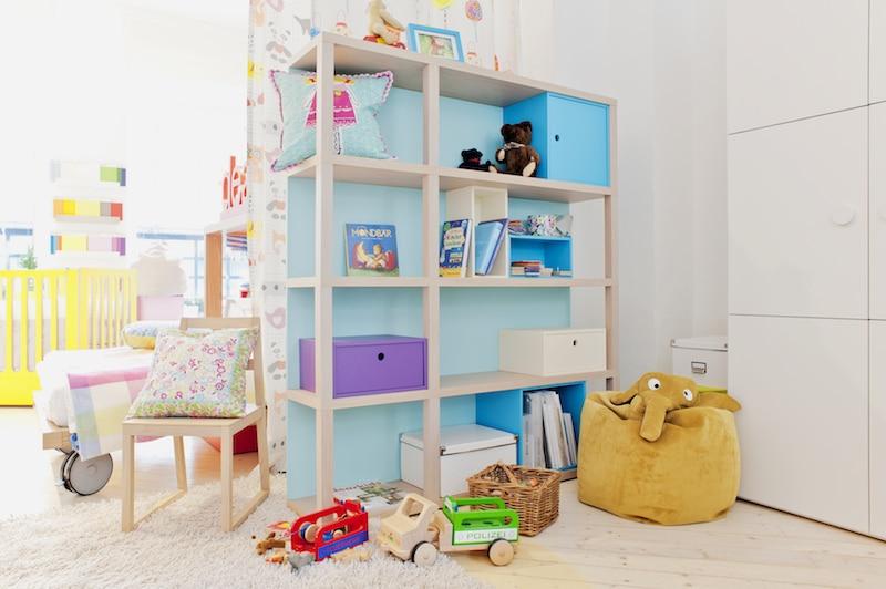 Regalsystem Kinderzimmer