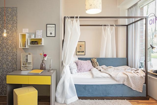 Himmelbett für Mädchen mobimio showroom