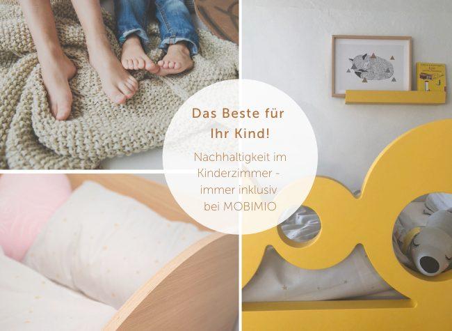 Nachhaltigkeit Kinderzimmer MOBIMIO