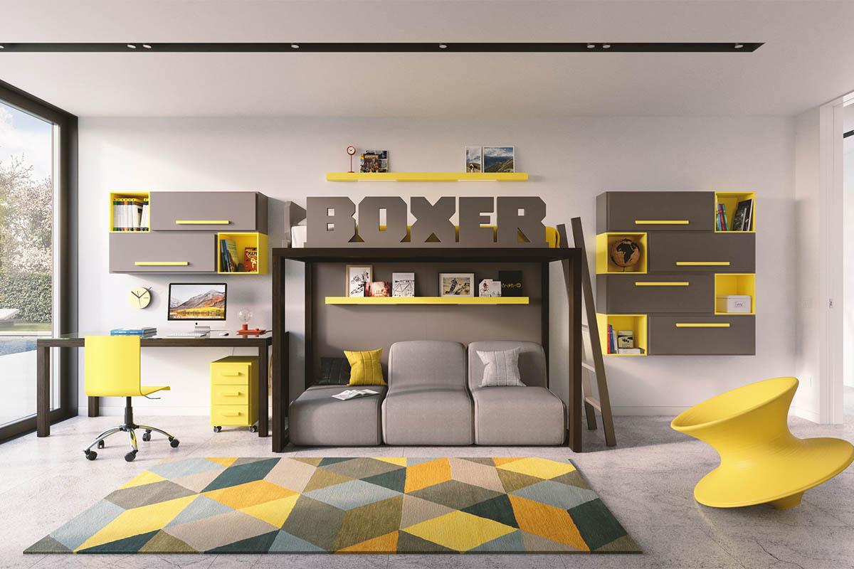 dearkids designer hochbett individuell geplantes Kinder/Jugendzimmer