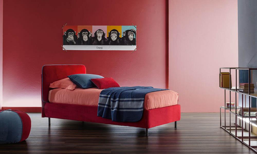 Modernes höchste Qualität Polsterbett für Kinder