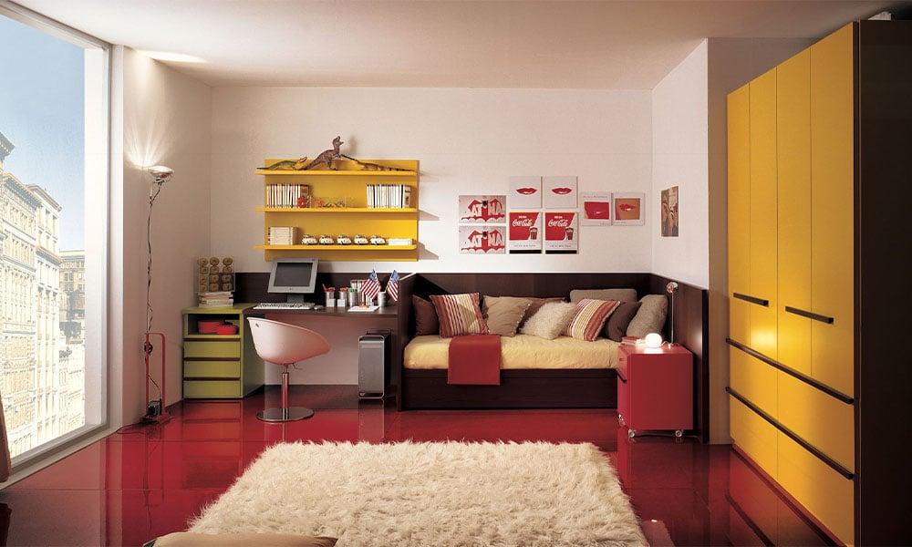 modernes geplantes Jugendzimmer von Mobimio