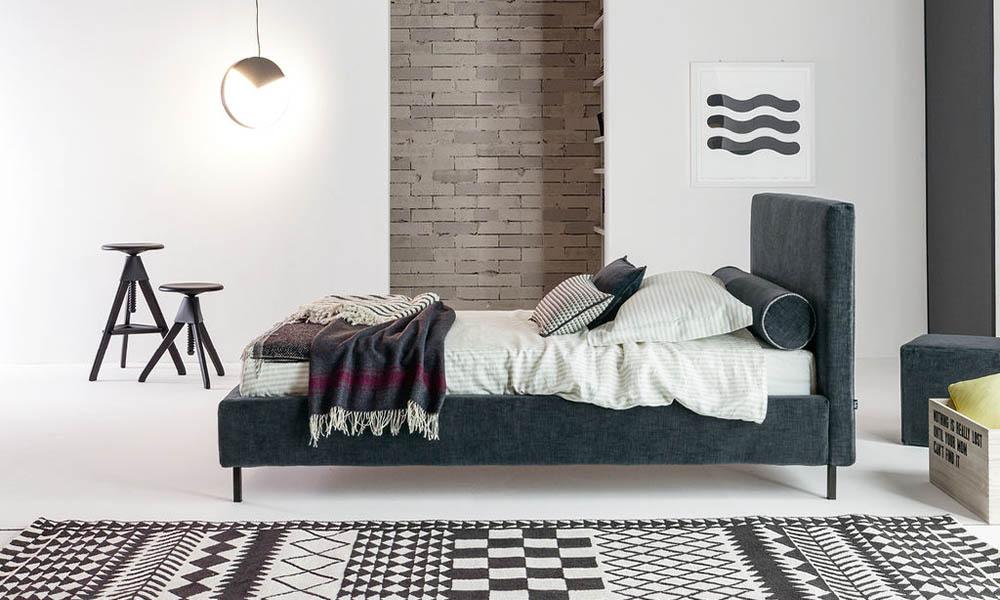 Polsterbett für Jungen aus ausgewählten Materialien von Mobimio