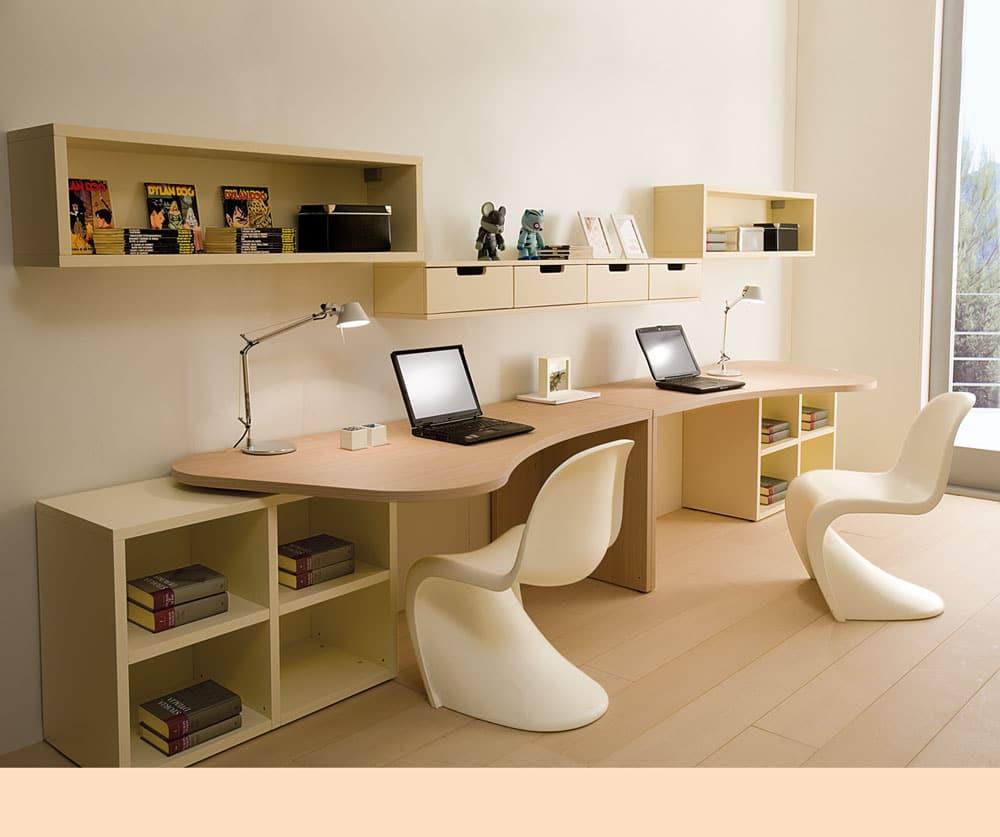 Entzuckend Schreibtische Für Kinder U0026 Jugendliche. Moderner Schreibtisch Stauraum  Jugendzimmer