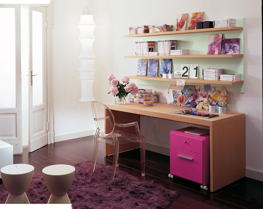 Design Schreibtisch hochwertig mit Stauraum