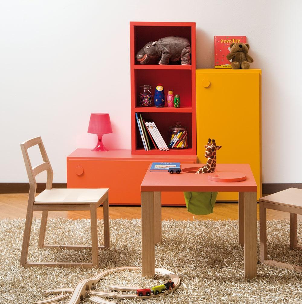 Spielregal für Kinderzimmer