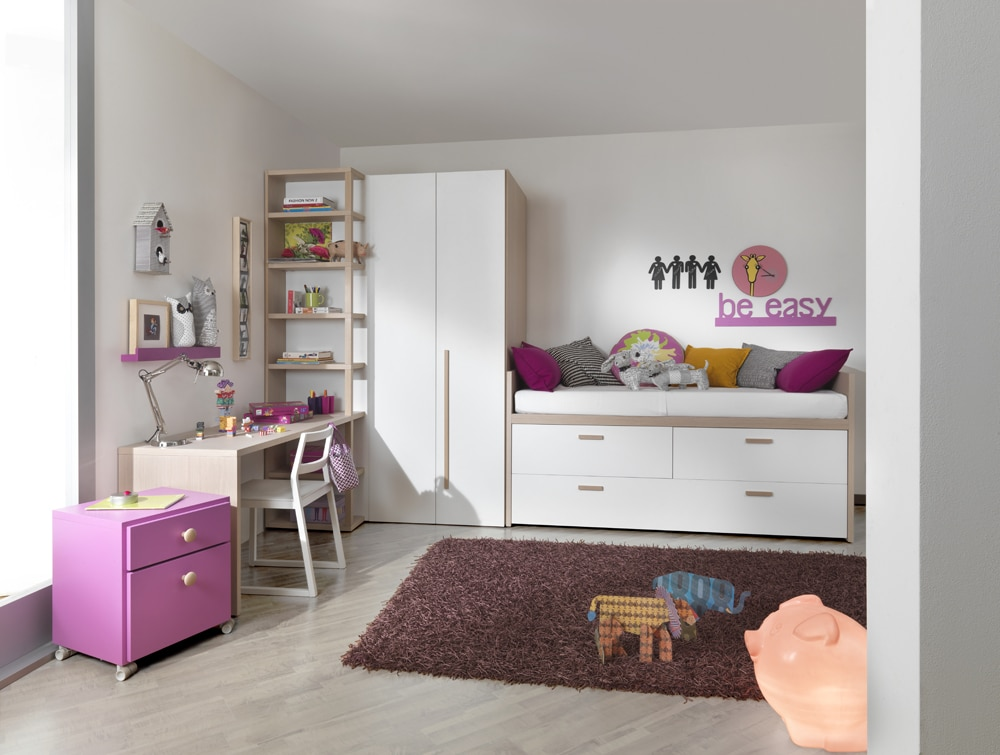 hochwertige kinderbetten und jugendbetten bei mobimio. Black Bedroom Furniture Sets. Home Design Ideas