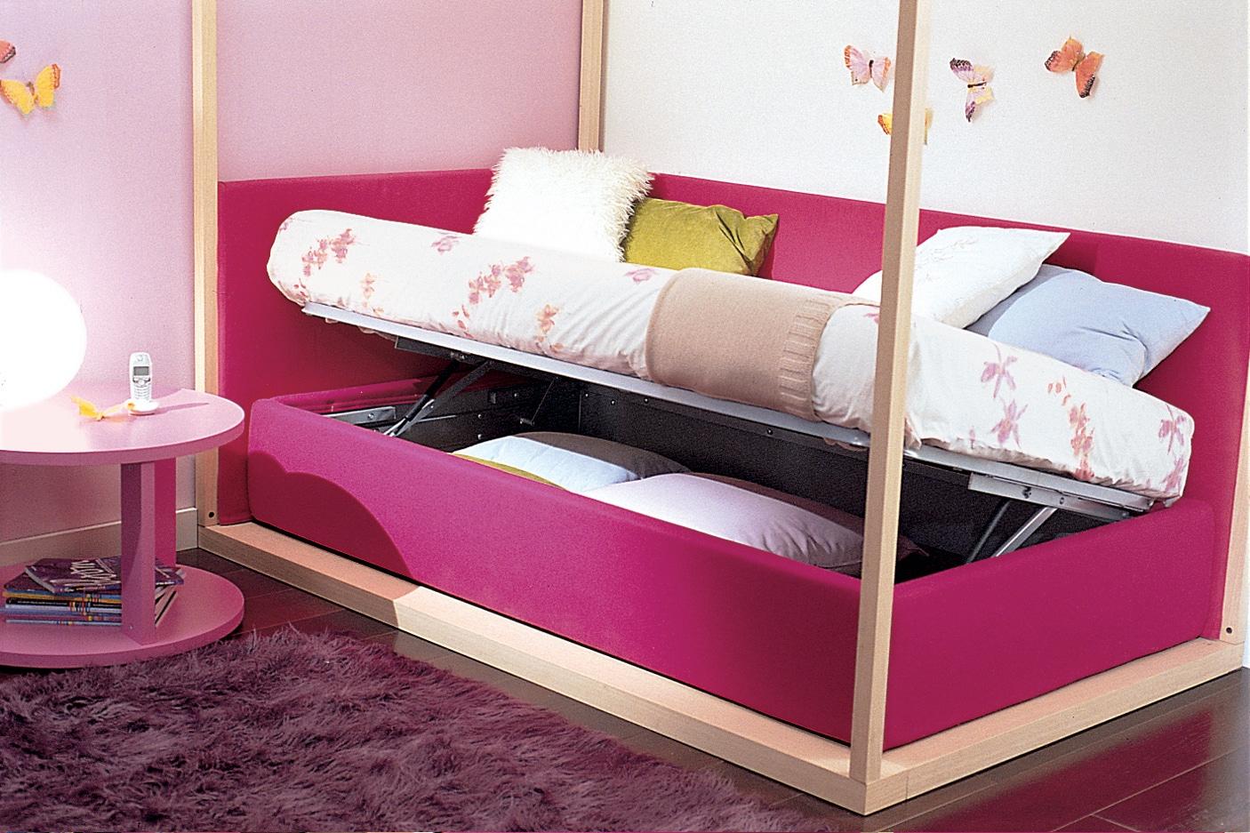 Halbhohe Kinderbetten Und Betten Mit Stauraum
